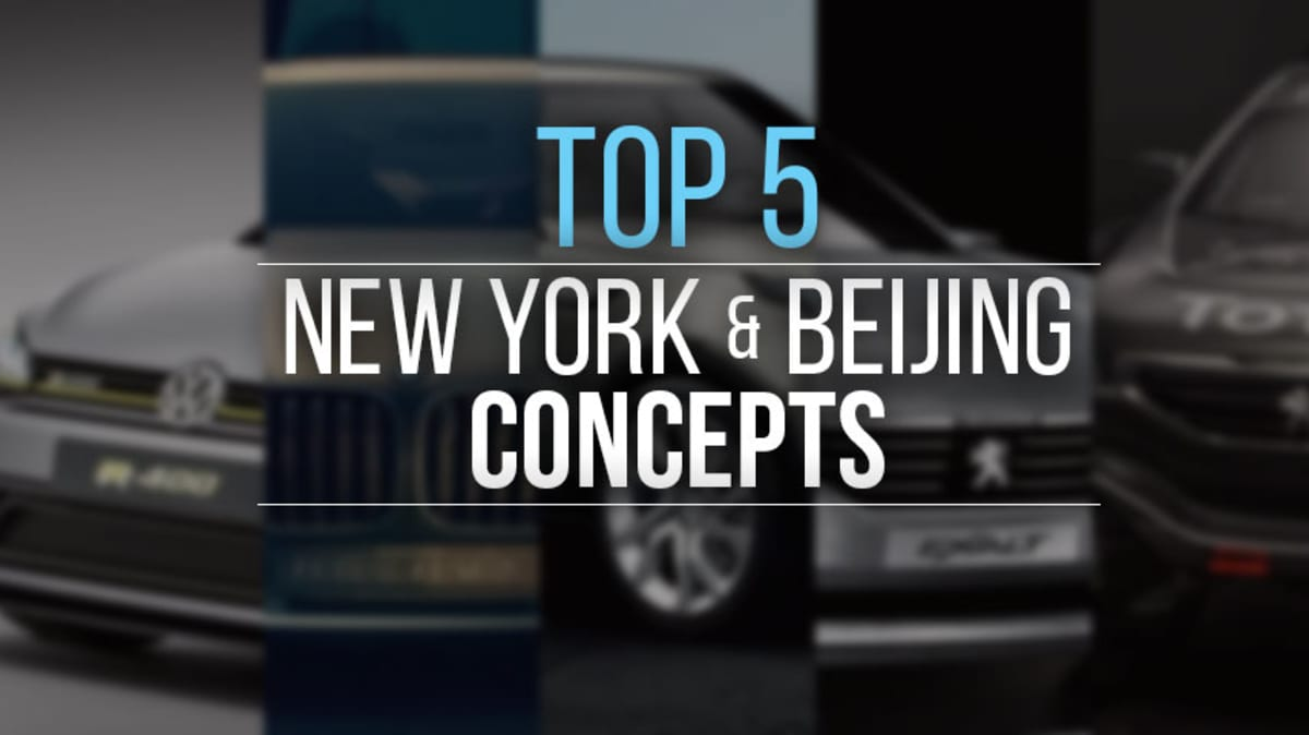 Top 5: The New York And Beijing Concepts (And One Racer) That Wowed Us