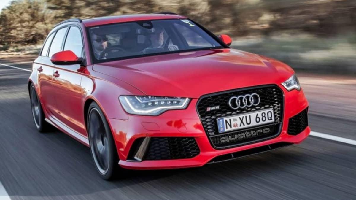 Audi RS6 Avant.