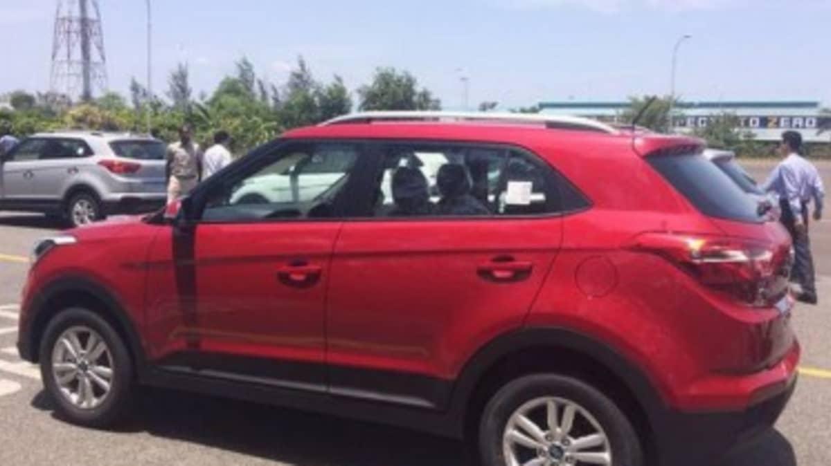 Hyundai's baby SUV breaks cover