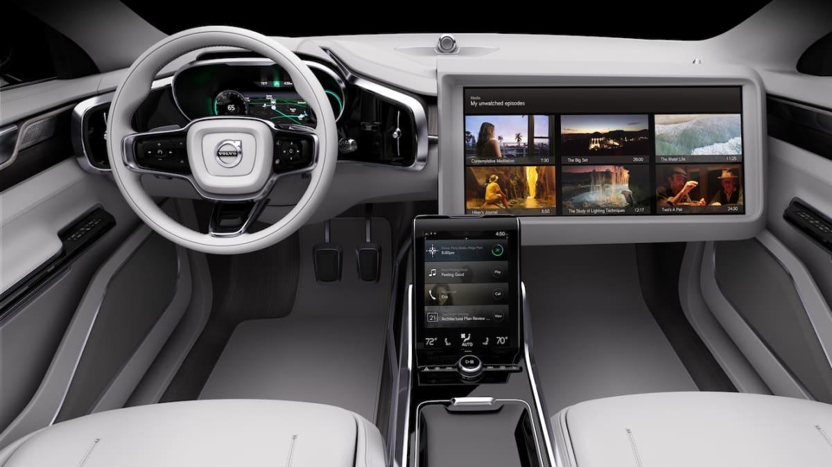 Volvo Concept 26 Previews The Future Of Autonomous Interiors - Video
