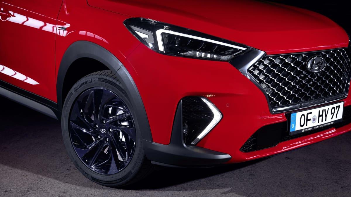Hyundai Tucson N-Line breaks cover