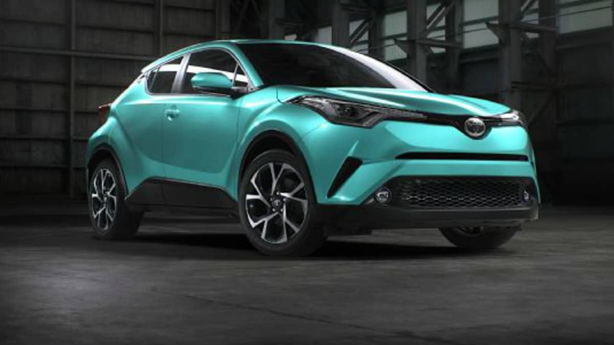 Toyota C-HR - Model Line-Up For Australia Revealed