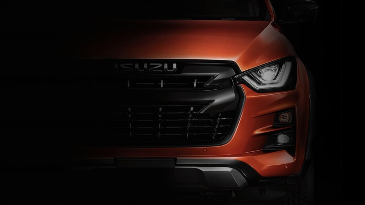 2020 Isuzu D-Max teased: All-new model due in Australian showrooms next year