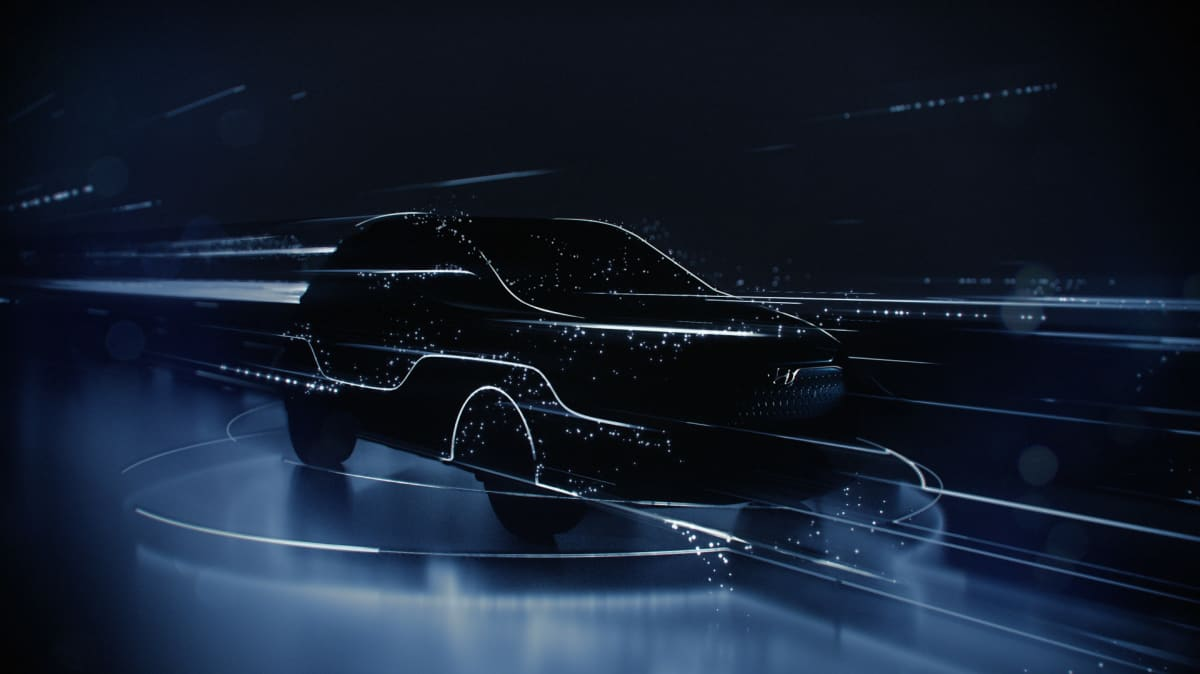 Hyundai has teased its new electric SUV.