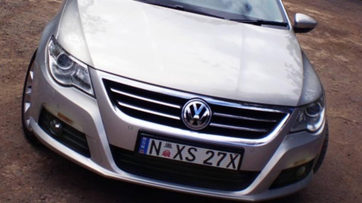 Volkswagen Passat CC First Drive Review
