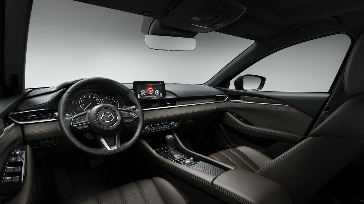 Inside the 2017 Mazda6