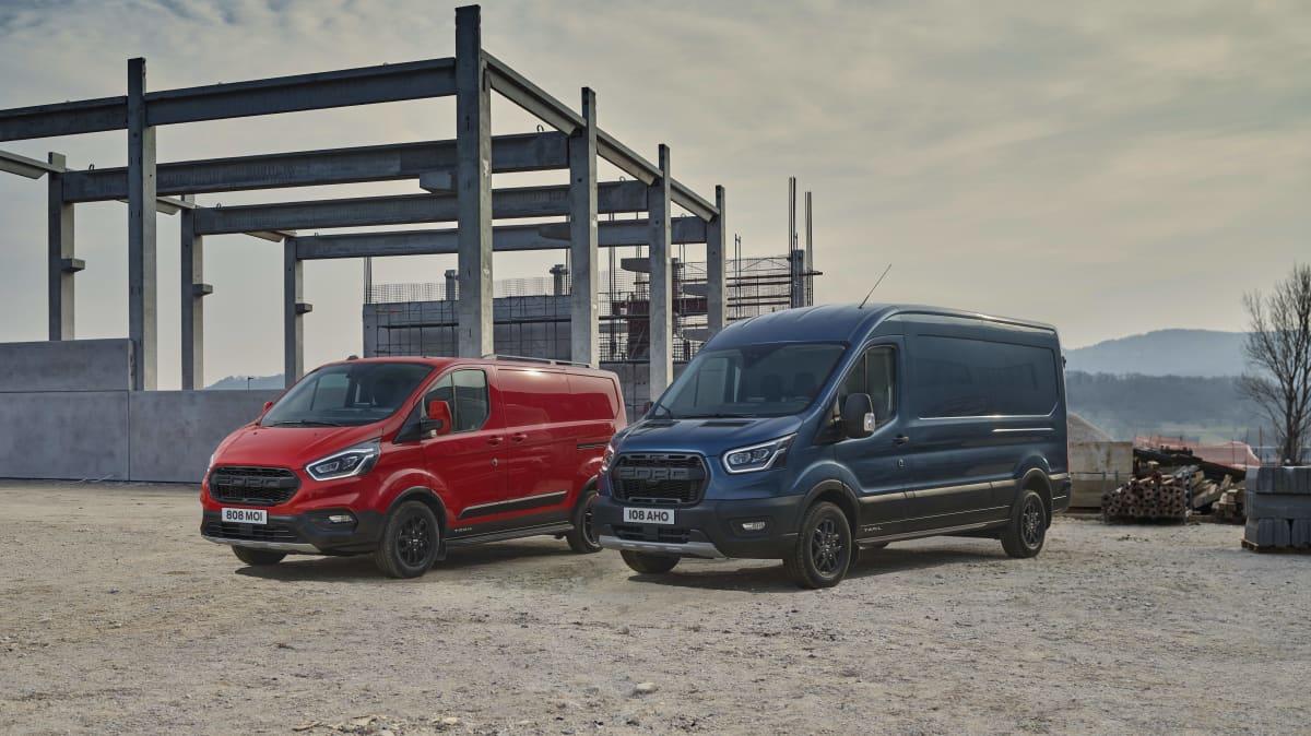 Ford Transit van gets Ranger Raptor grille but not the performance