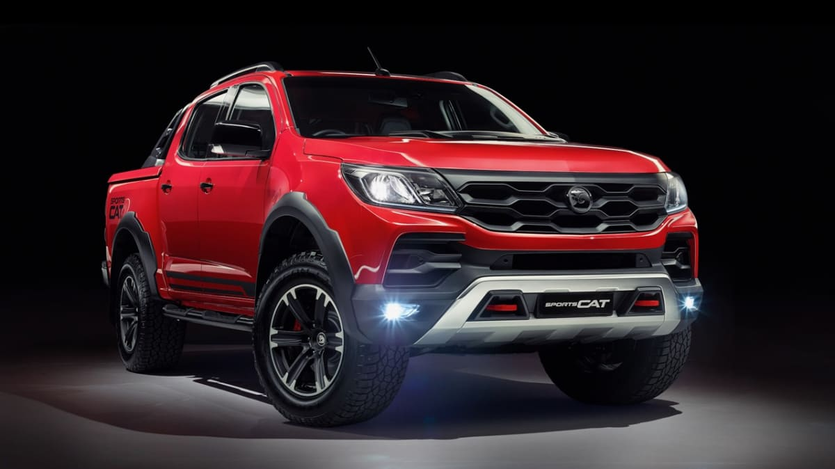 HSV Colorado SportsCat price and specifications