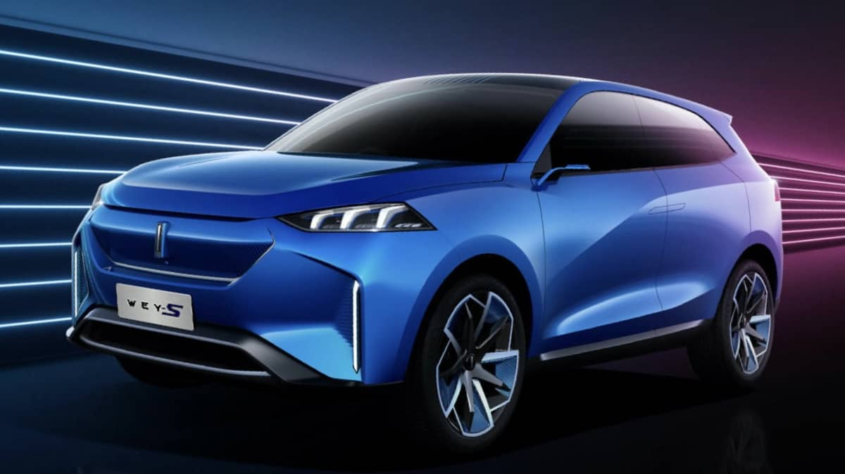 2019 Wey-S electric concept car