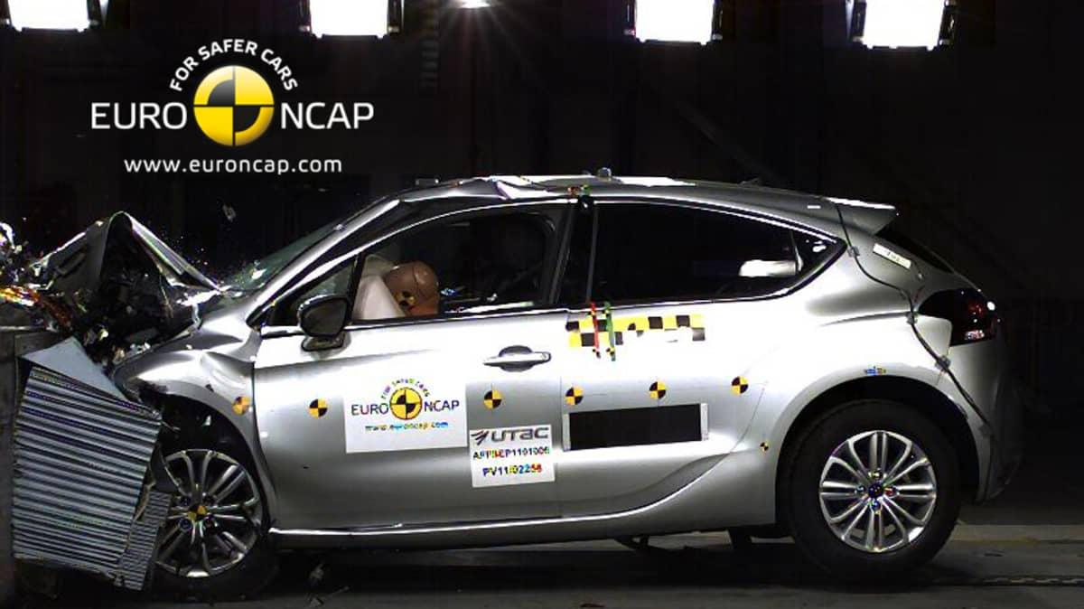 Euro NCAP: 5 Stars For 2012 Ford Focus, Lexus CT 200h, Citroen DS4