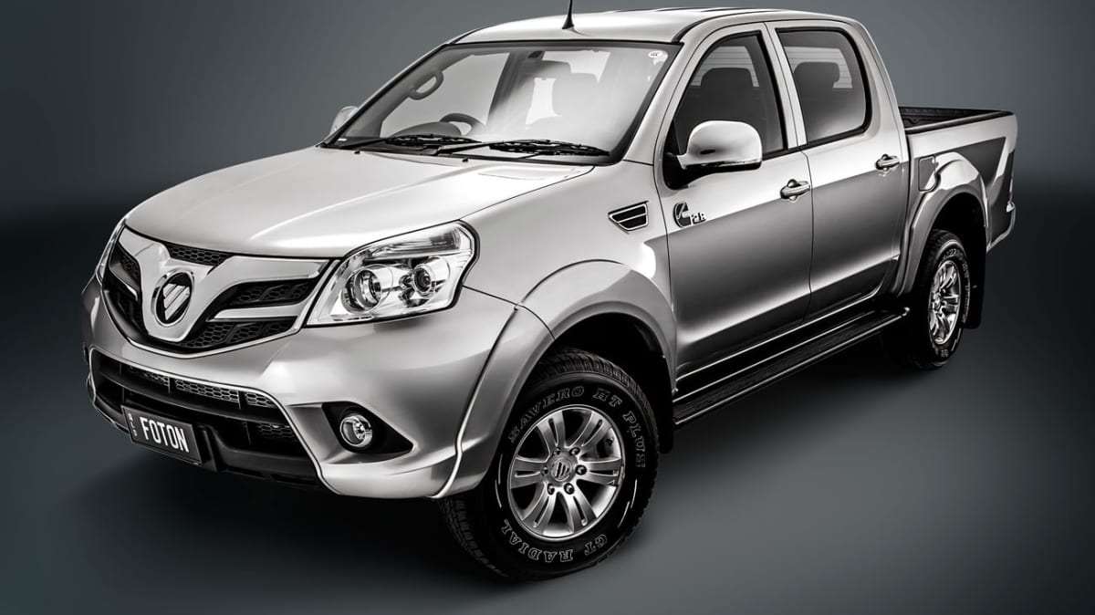 2013 Foton Tunland Previewed Further Ahead Of November Australian Debut