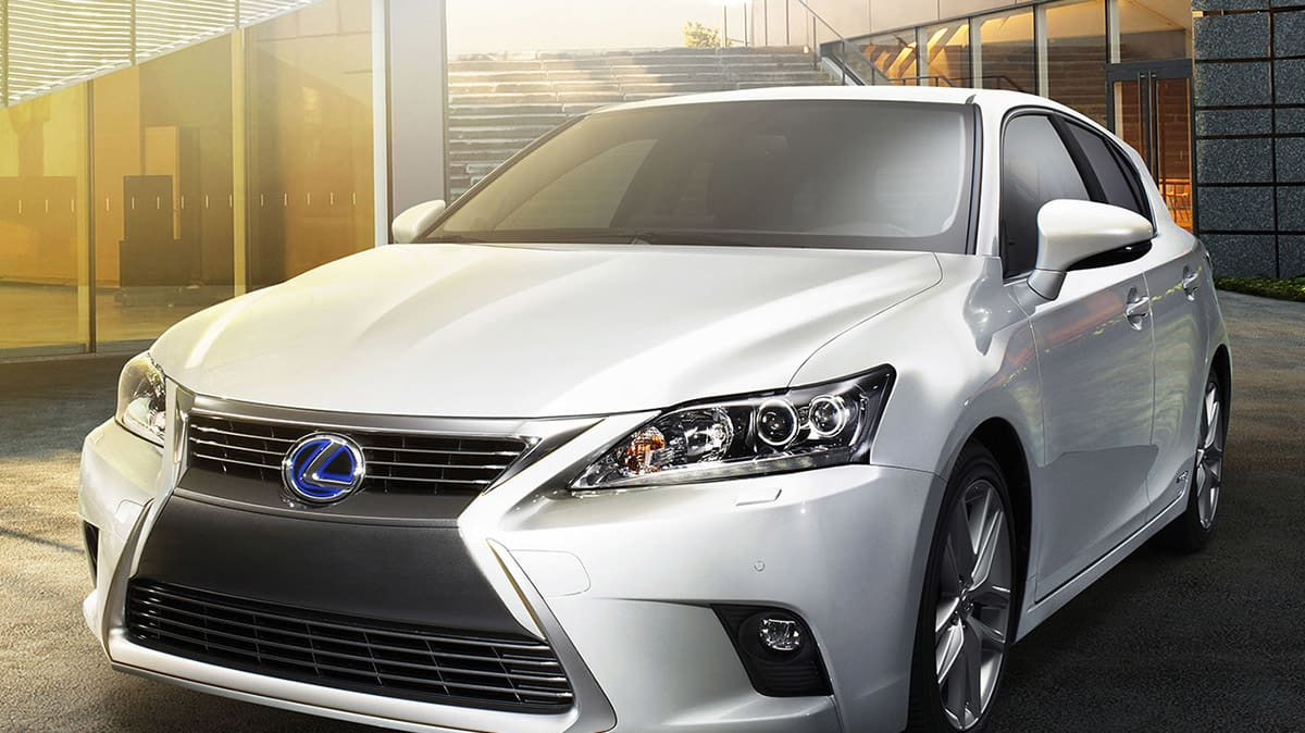 Lexus Softens Stance On Non-Hybrid CT and Plug-in Hybrids