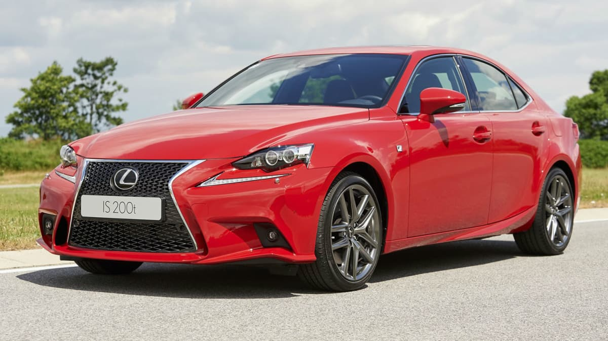 Lexus IS To Go Turbo With New 200t