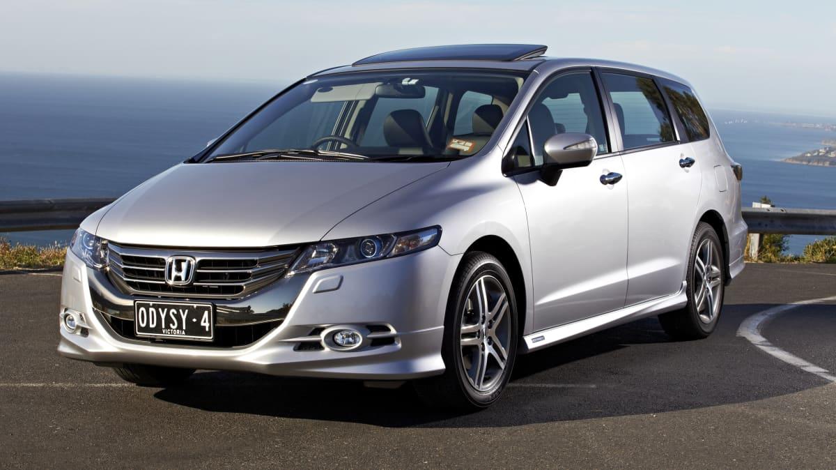 2011 Honda Odyssey.