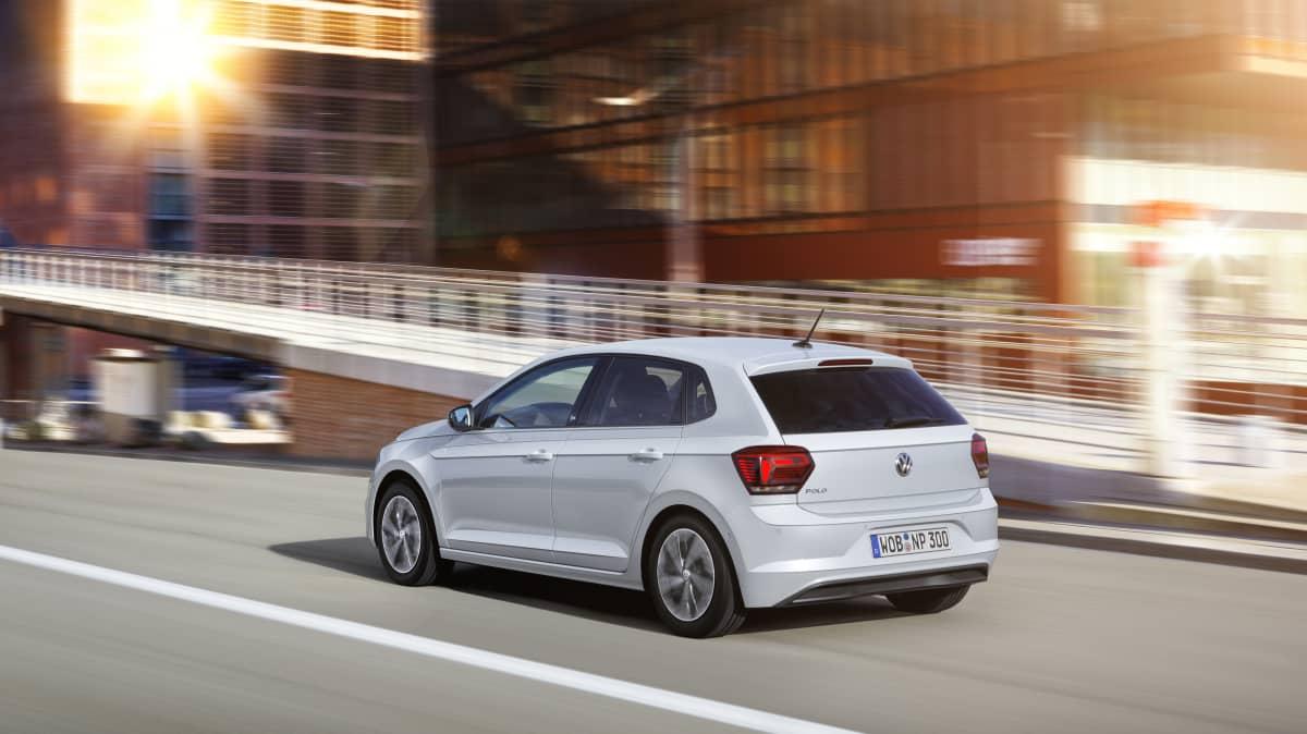 2018 Volkswagen Polo beats.