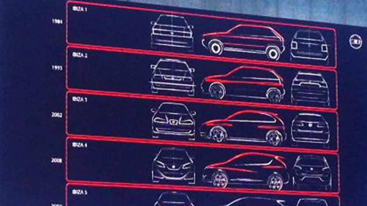 Seat Teases New Ibiza Hatch