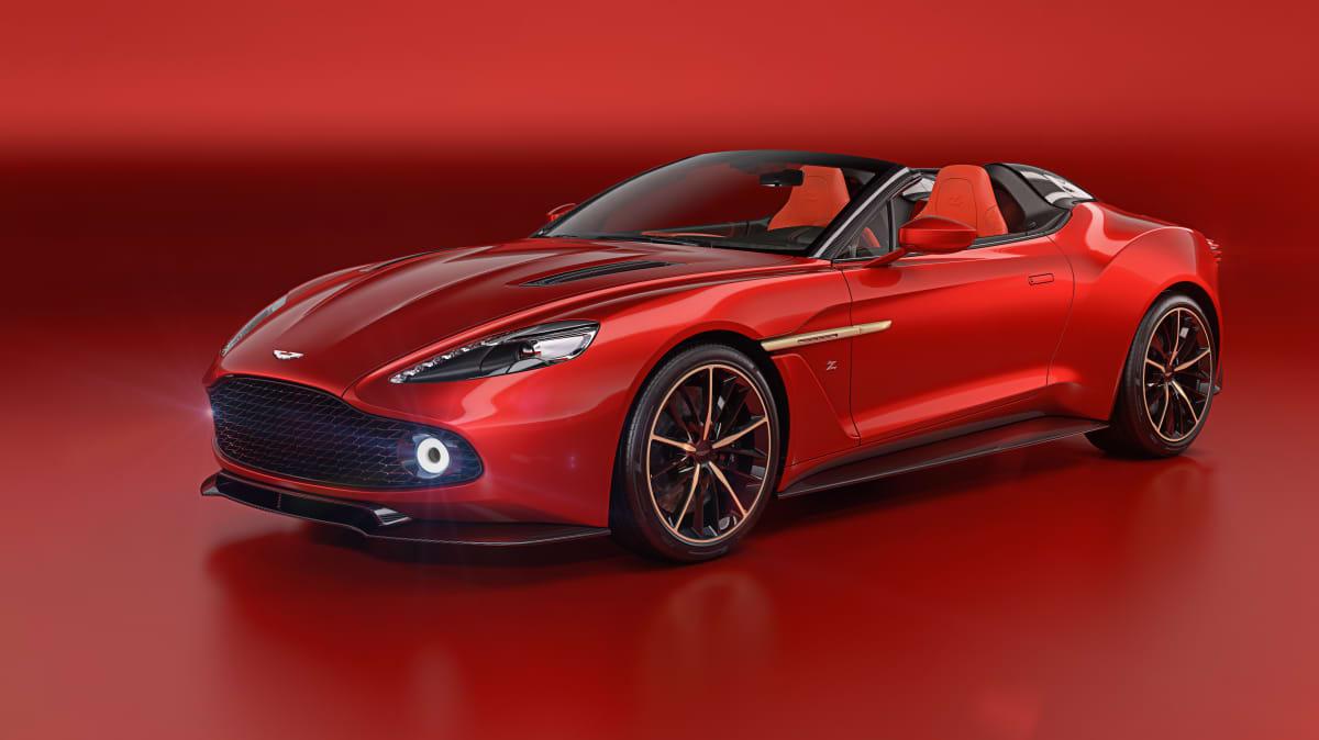 Aston Martin reveals Vanquish Zagato Speedster and Shooting Brake