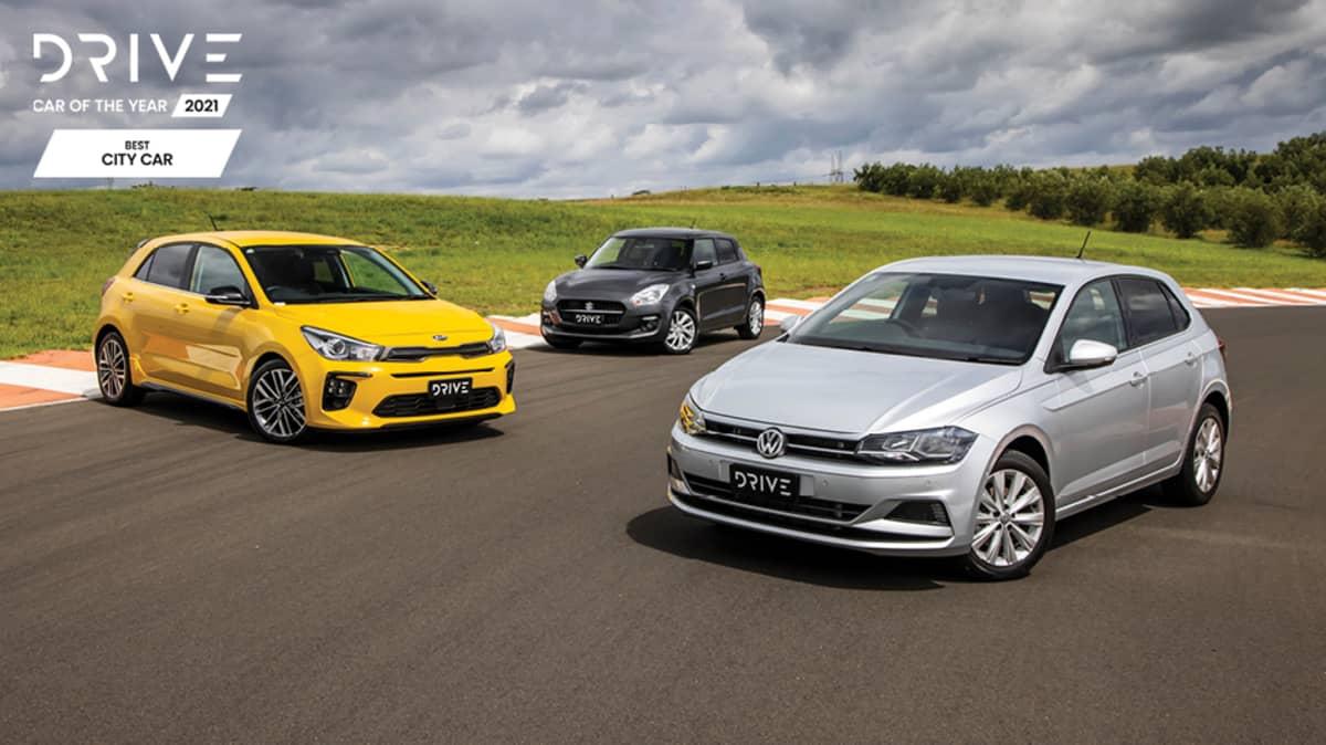 Drive Best City Car 2021 finalists group photo