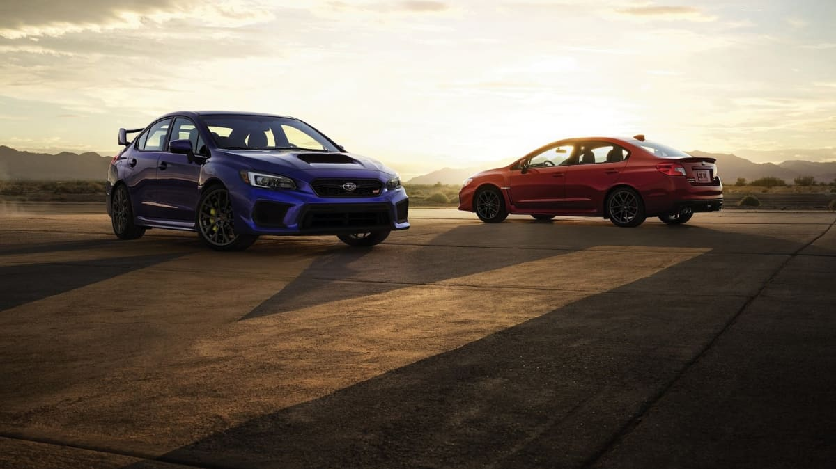 Updated 2018 Subaru WRX And WRX STI Unveiled Ahead Of Detroit Debut