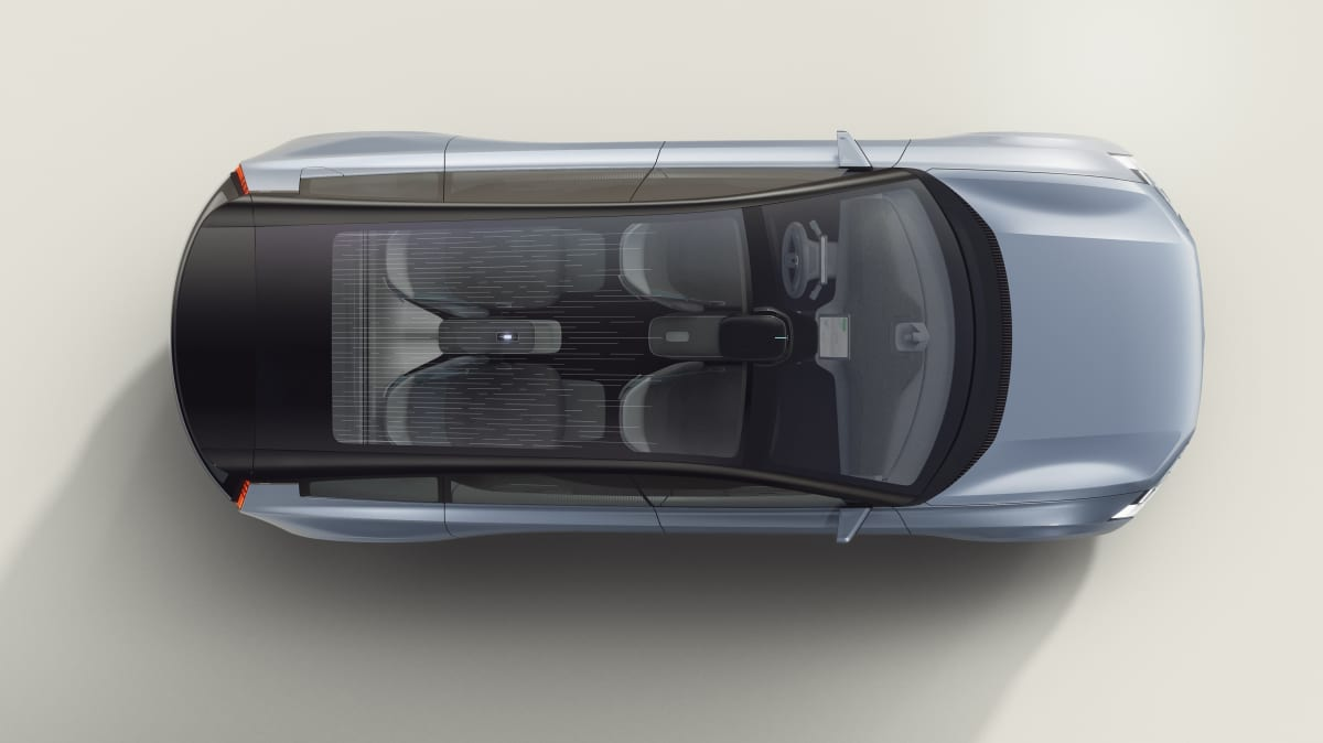 Above: Volvo Concept Recharge.