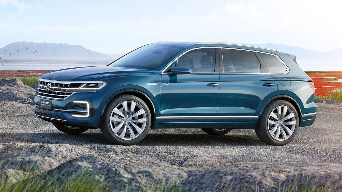 Volkswagen T-Prime GTE Concept Revealed, Previews New SUV Flagship