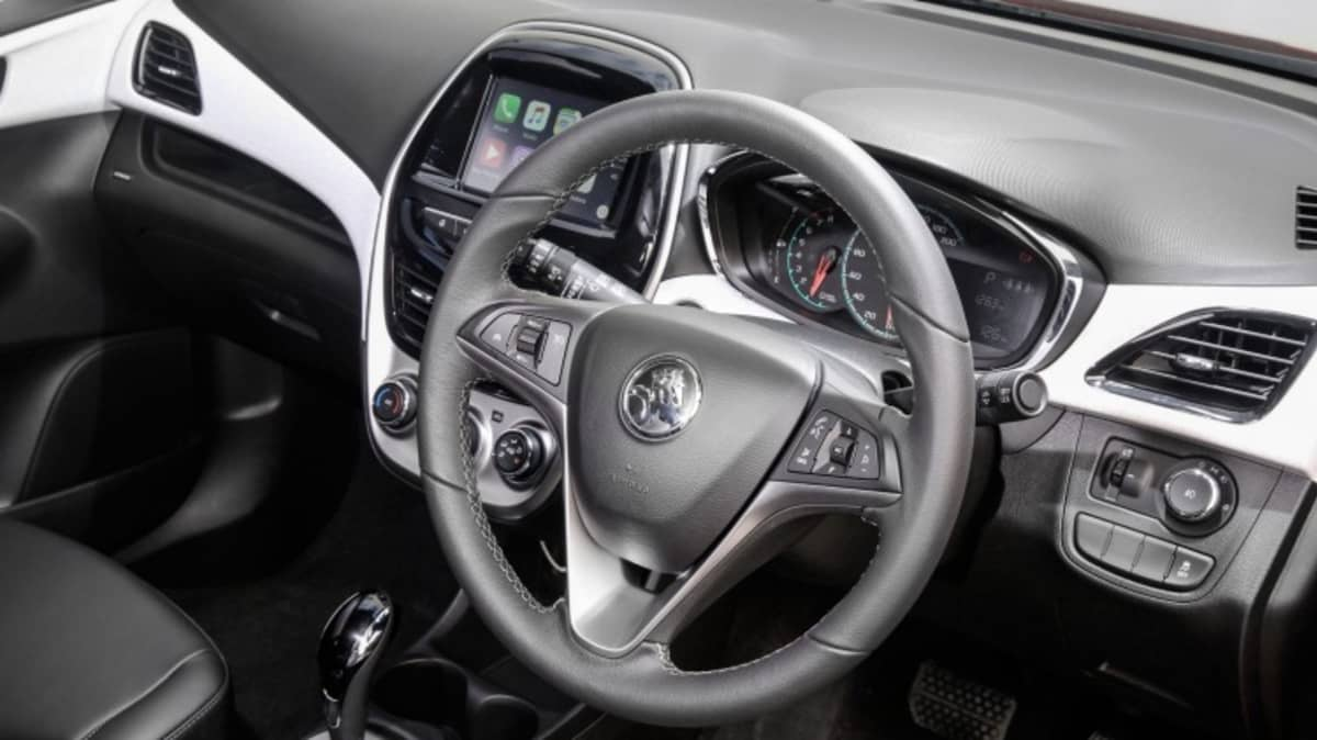 Holden says the Spark's modern cabin will attract new buyers.