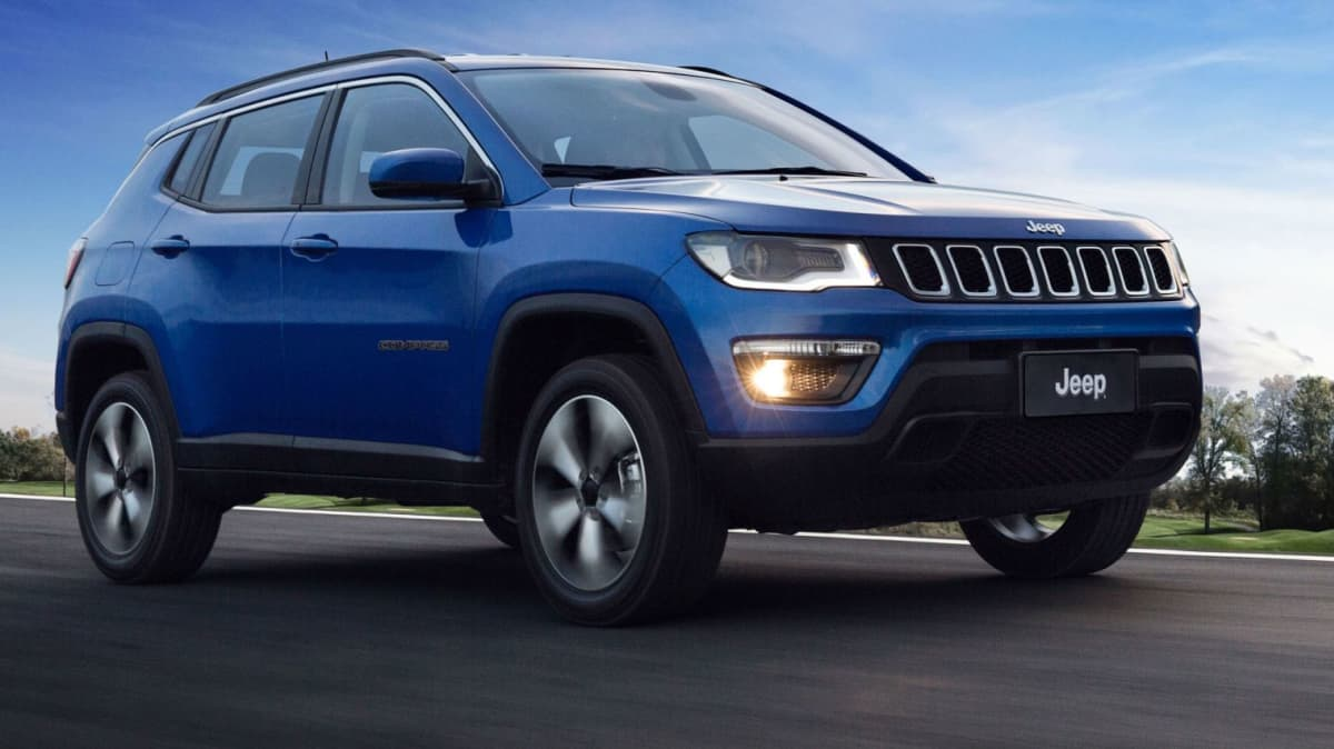 All-New Jeep Compass Revealed In Brazil