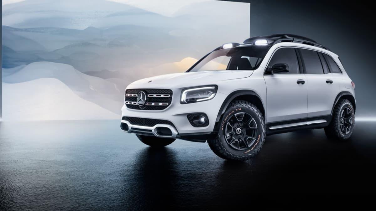 Mercedes-Benz Concept GLB revealed