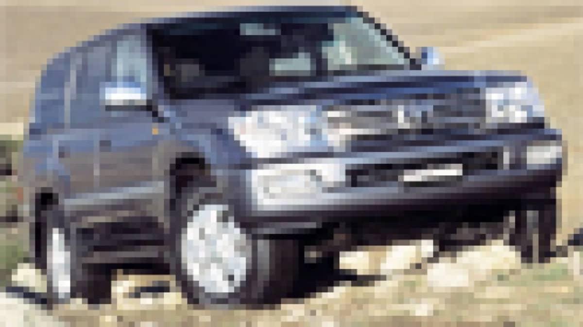 2005 Toyota LandCruiser 100 Series