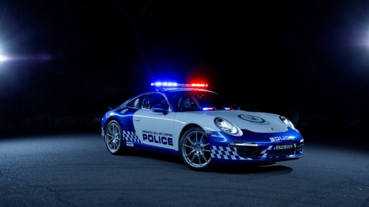 NSW Police are set to prowl the streets in a Porsche 911.