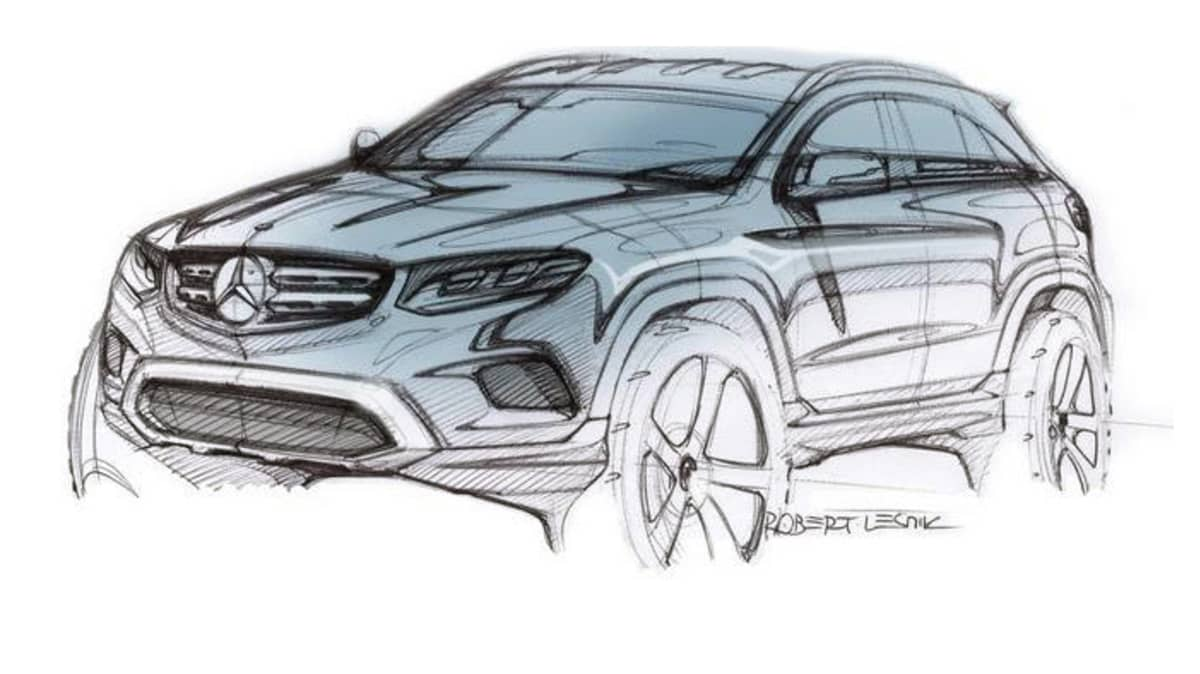 New Mercedes-Benz GLC Previewed