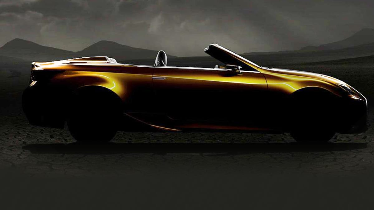 Lexus LF-C2 Revealed Further, LF-LC Still On The Table