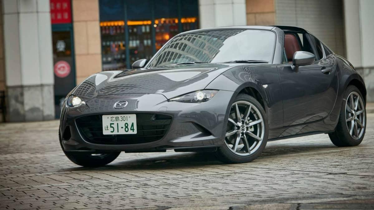 Five-Star ANCAP Safety For Mazda MX-5 RF