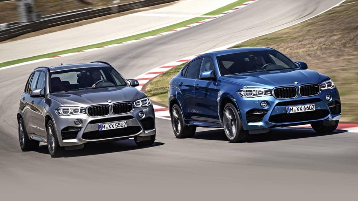 2015 BMW X5M, X6M Performance SUVs Revealed
