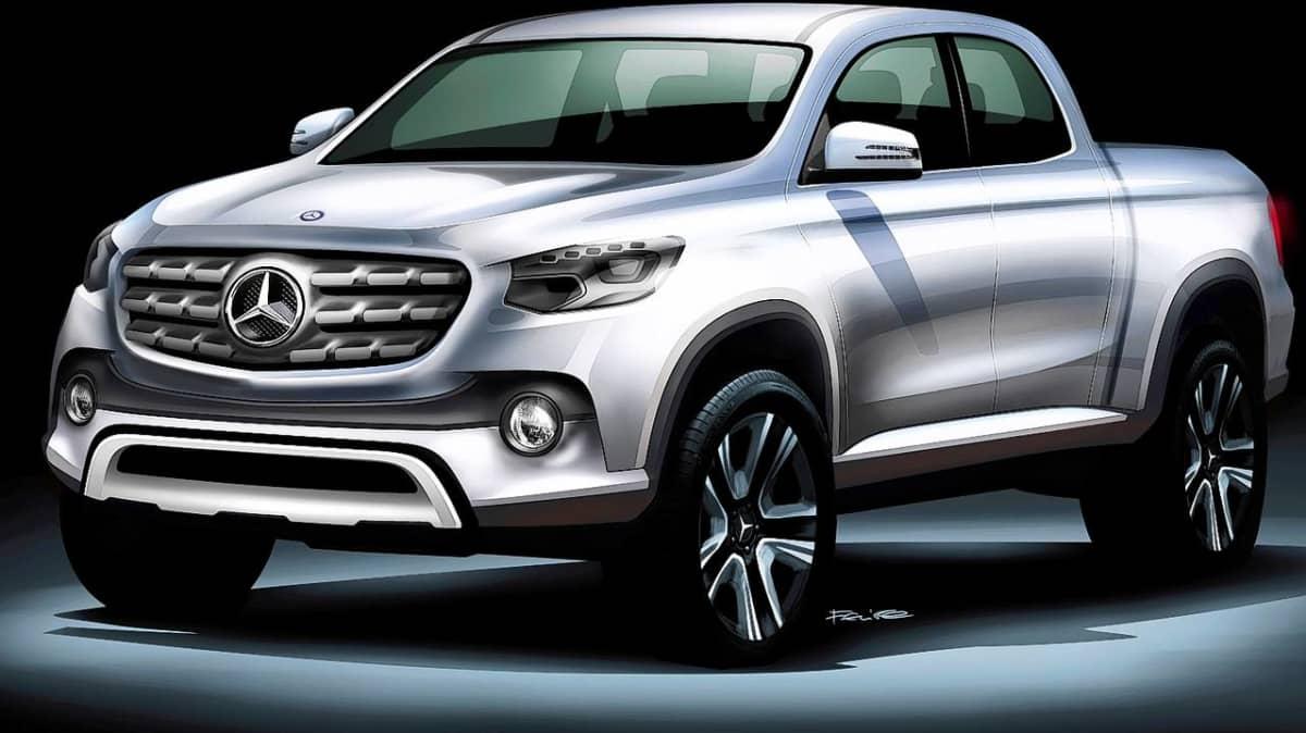 Mercedes, Renault Pickups: Daimler, Nissan Confirm One-Tonne Partnership