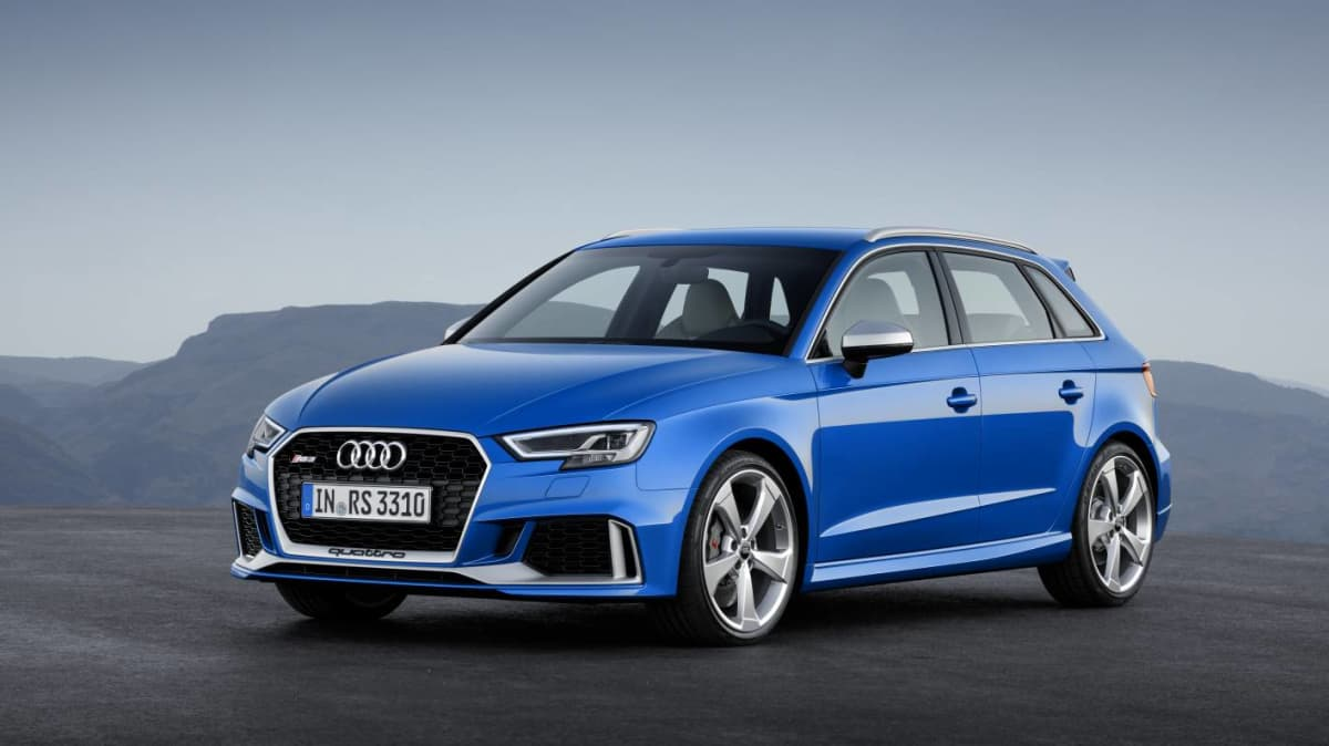 More Power And Fresh Styling For 2017 Audi RS 3 Sportback