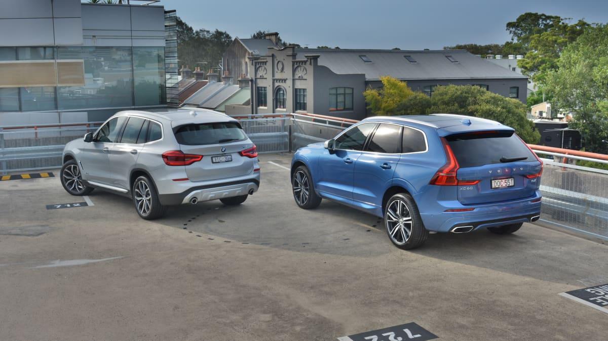 Volvo XC60 v BMW X3.