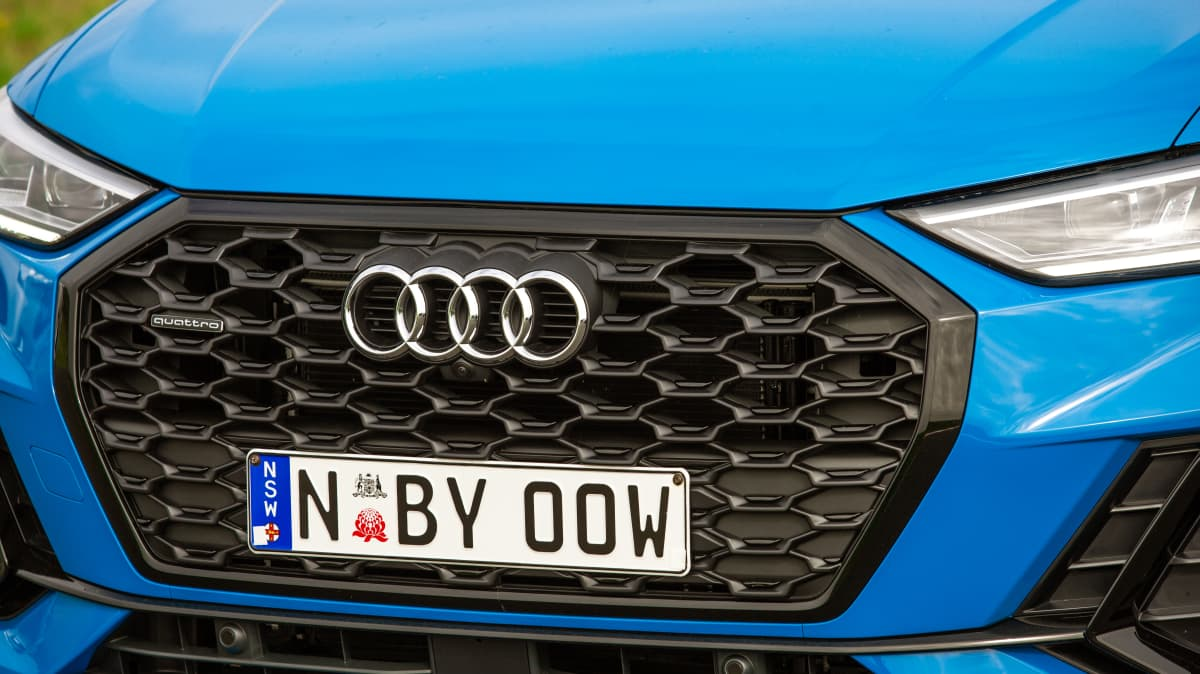 Drive Car of the Year Best Small Luxury SUV finalist Audi Q3 Sportback grille