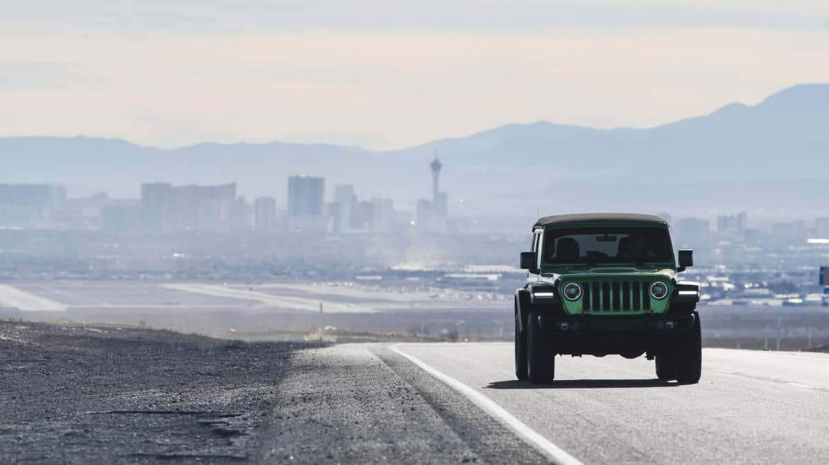 Finding Route 66 in a Jeep Wrangler