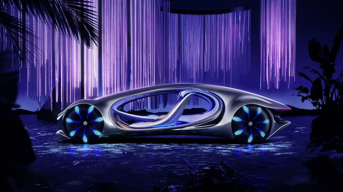 CES 2020: Mercedes-Benz unveils Vision AVTR autonomous concept car