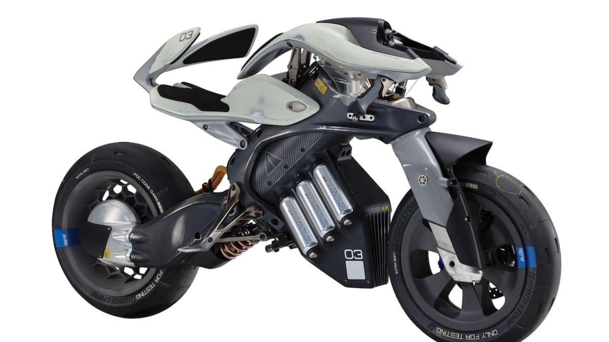 2017 Yamaha MOTOROiD Concept