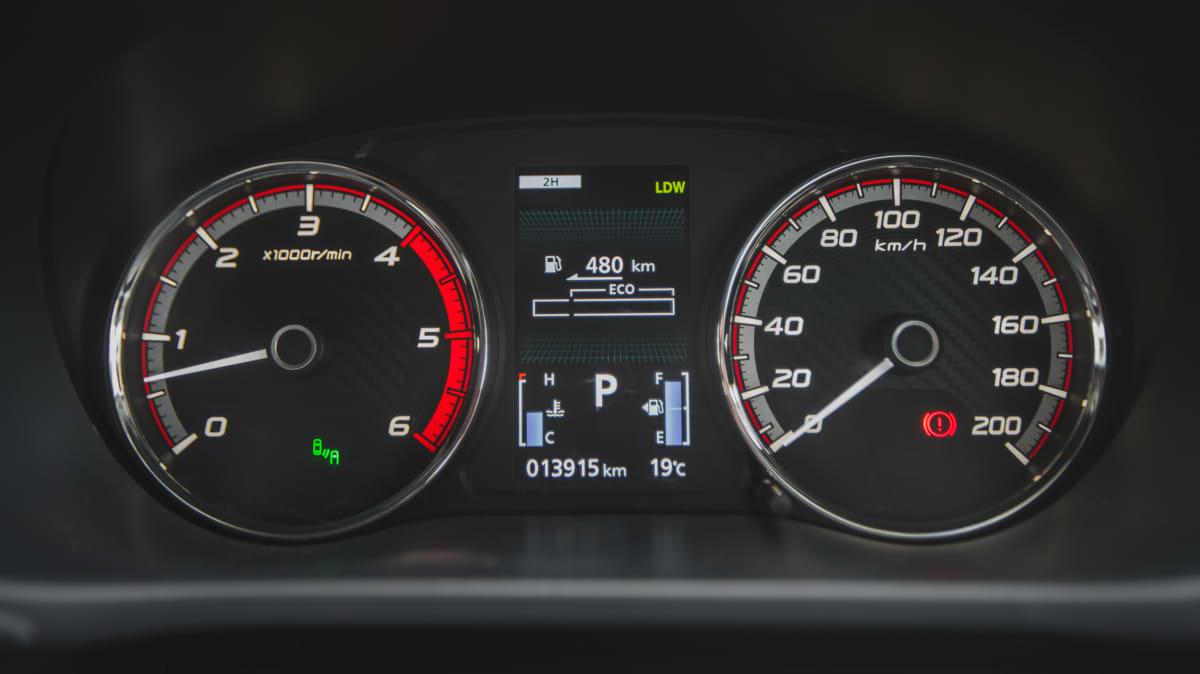 2021 Mitsubishi Triton GSR 4×4 review-1