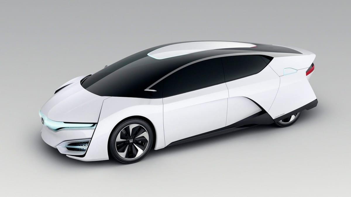 Honda FCEV Hydrogen-Powered Concept Unveiled At LA Auto Show