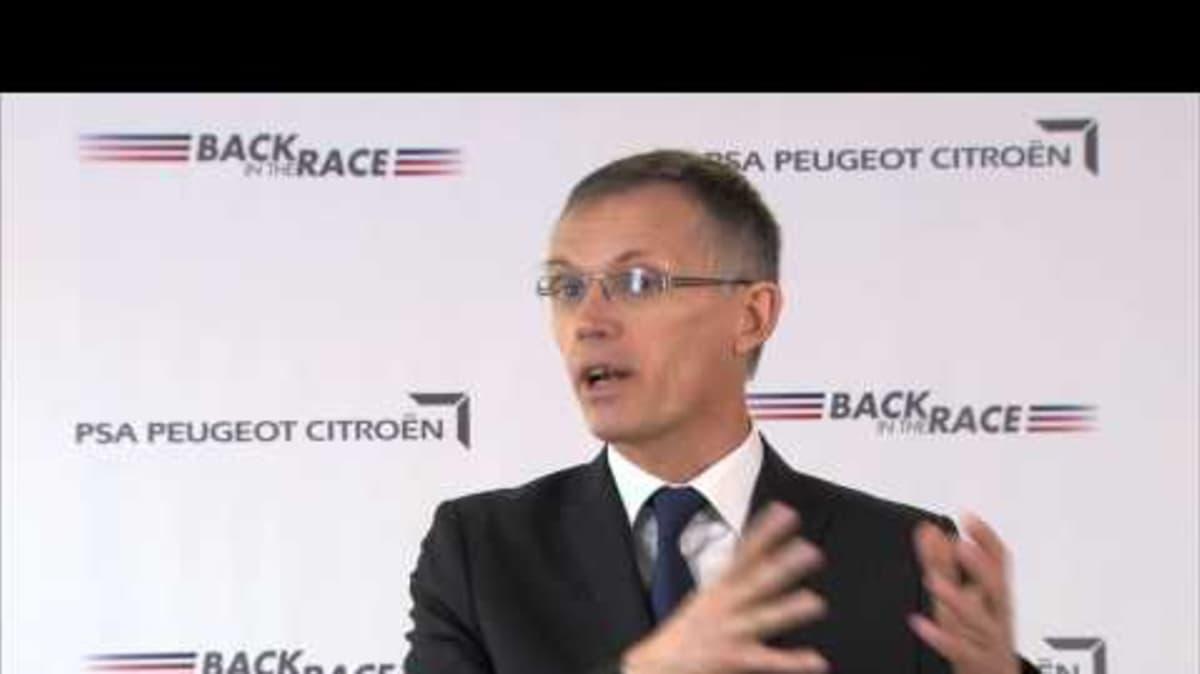 PSA Peugeot Citroen Reducing Model Range From 45 To 26: Video