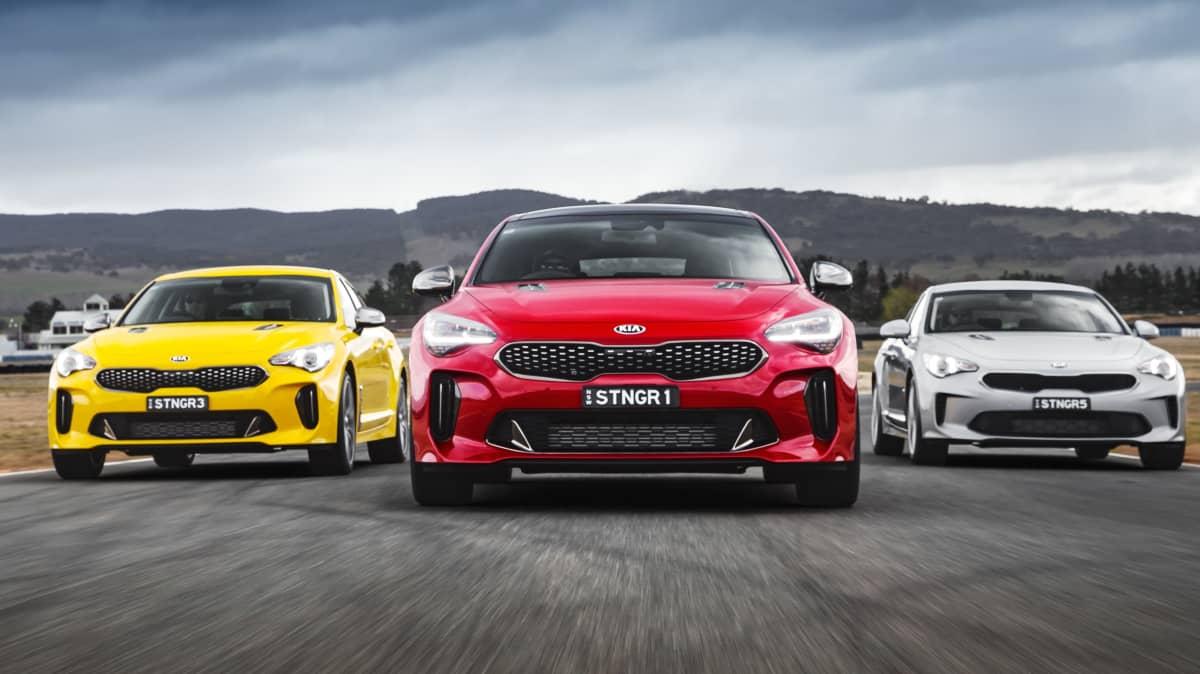 Kia Stinger beats Holden Commodore in sales race