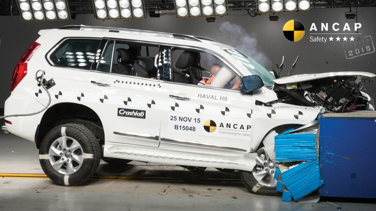Haval 'Shocked' As H9 SUV Earns 4-Star ANCAP Safety Rating
