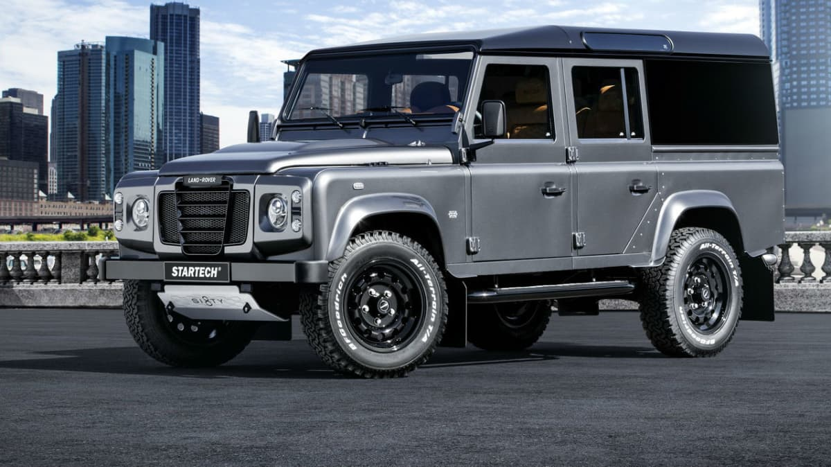 Land Rover Defender Farewell By Startech: The Sixty8 Limited Edition