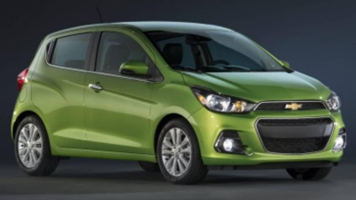 Chevrolet reveals new Holden Spark