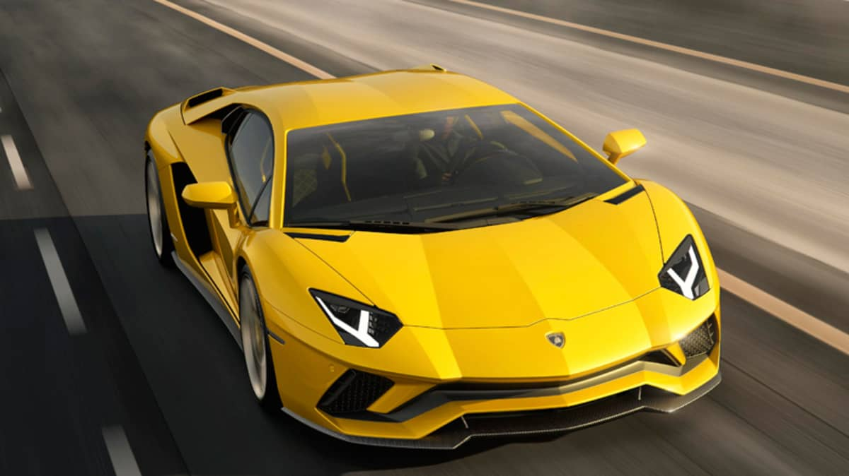 New Lamborghini Aventador S Confirmed - More Power For Raging Bull