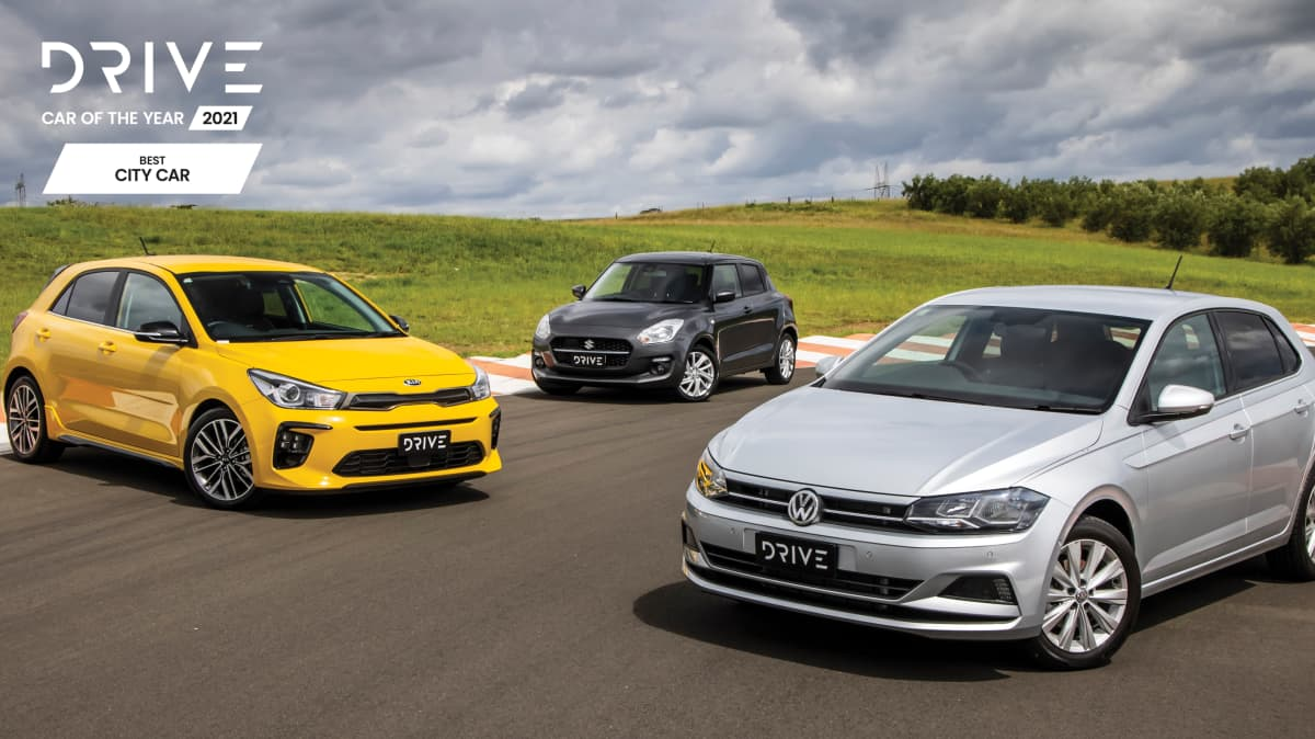 Drive Car of the Year Best City Car 2021 finalists group photo